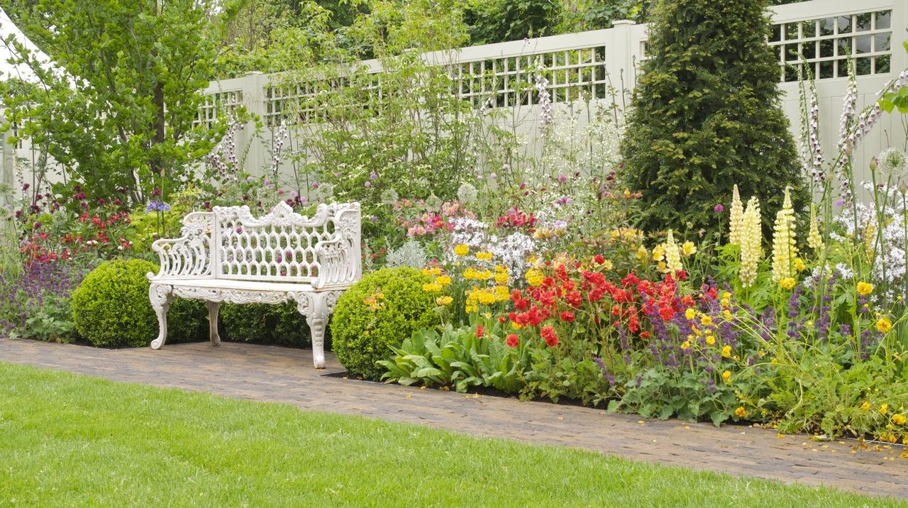 My garden blooms 39 n 39 food - Parasol de jardin rectangulaire ...